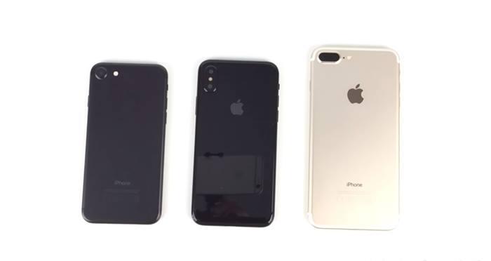 مقارنة بين تصميم آيفون 8 وتصميمات iPhone 7 و iPhone 7 Plus