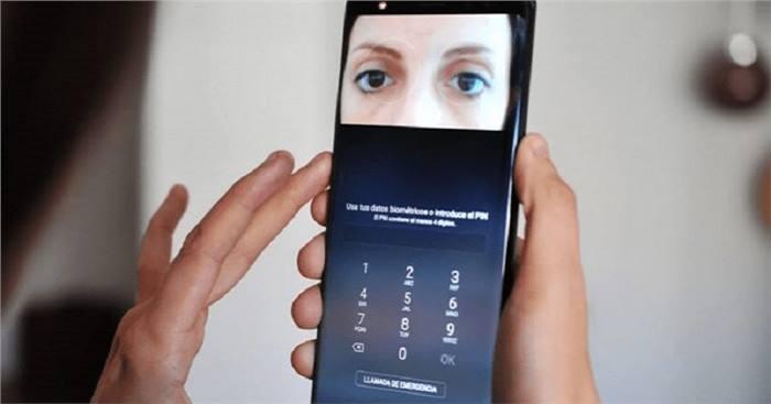 سامسونج قد تستغنى عن تقنية ماسح قزحية العين في هاتف Galaxy S10