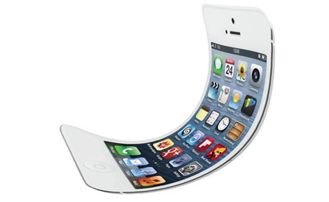 براءة إختراع جديدة لأبل لشاشة قابلة للطى يمكن استخدامها فى iphone مستقبلى