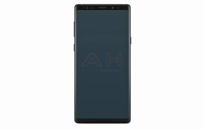 تسريب أول صورة رسمية لهاتف Galaxy Note 9