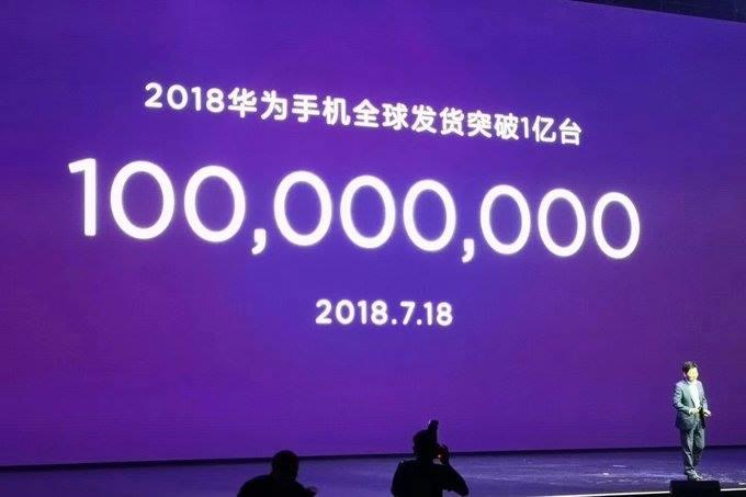 هواوى تؤكد بيع 100 مليون هاتف حتى الأن فى عام 2018