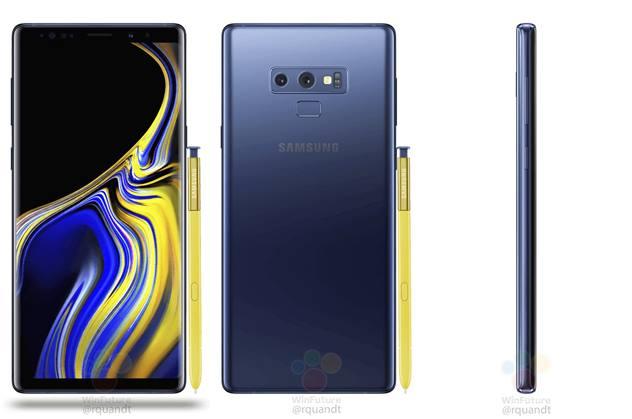 تسريب مواصفات هاتف Galaxy Note 9 من على علبته الرسمية