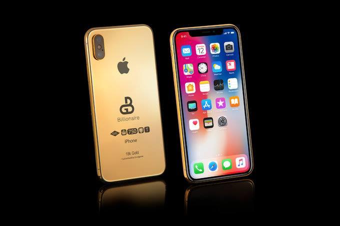 شركة Goldgenie تبيع نسخة ذهبية من هاتف iphone غير موجود حتى الأن