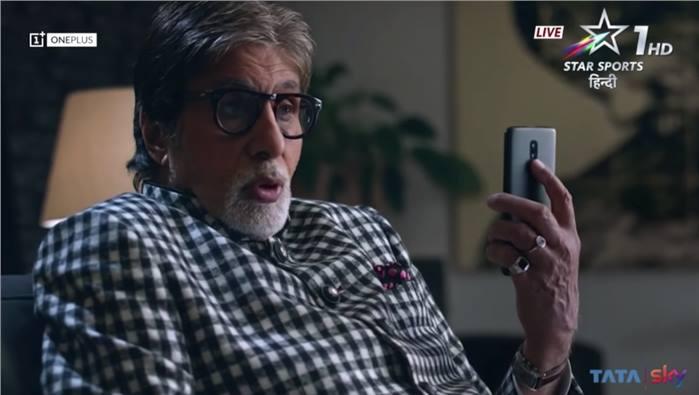 فيديو تشويقي من أميتاب باتشان لهاتف OnePlus 6T