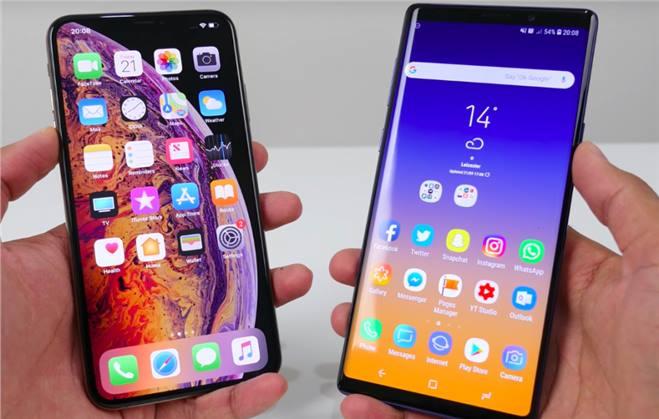 الهاتف iphone XS Max رائع ومثير للإعجاب ولكن Galaxy Note 9 هو الملك