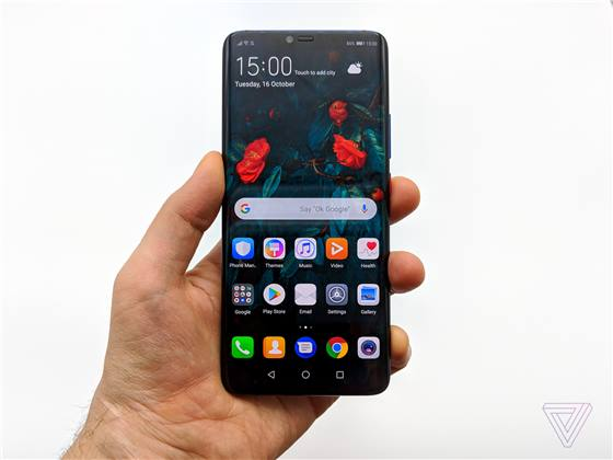 تقرير: شاشة هاتف Mate 20 Pro من تصنيع شركة BOE
