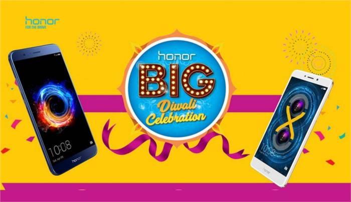 شركة Honor تحتفل ببيع مليون هاتف بمهرجان Diwali بالهند