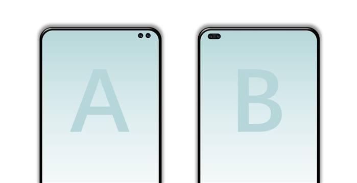 نسخ من Galaxy S10 ستأتي بثقب في الشاشة ونسخة ستأتي بثقبين
